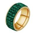 NHHF1057518-Three-rows-of-clay-green-diamond-No.9