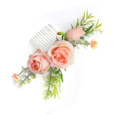Coréen insert peigne simulation fleur coiffure de mariage de mariée en gros NHHS255954's discount tags