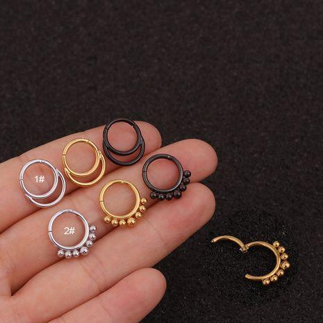 Boucles d'oreilles en acier inoxydable de mode en gros NHEN256051's discount tags