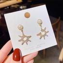 Mode neue einfache kurze koreanische Perle S925 Silber Nadel Ohrringe Grohandel NHXI256219