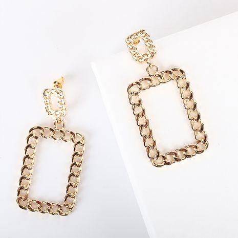 nouveau S925 argent aiguille goujon chaîne boucle longues boucles d'oreilles en alliage pour les femmes NHQS256227's discount tags