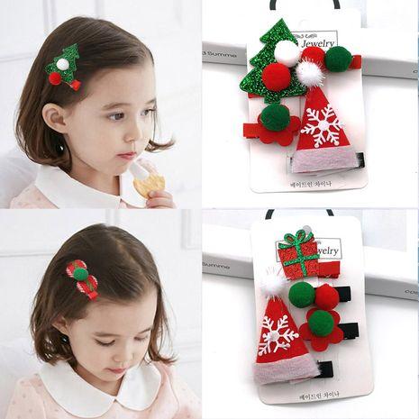 Épingle à cheveux de Noël pour enfants filles princesse épingle à cheveux de Noël petite fille pince à cheveux NHSA256253's discount tags