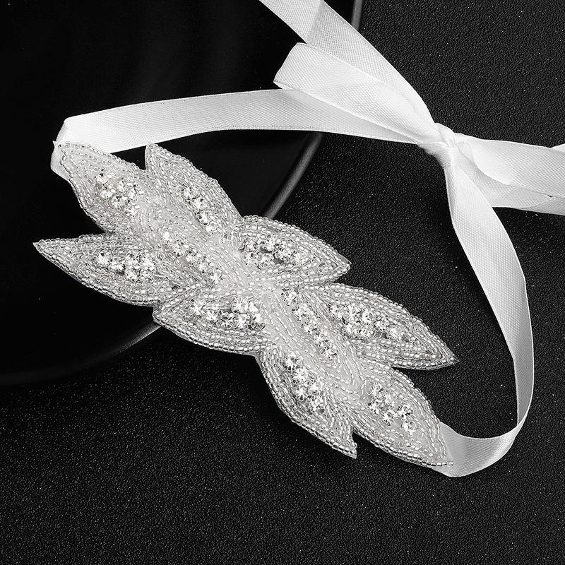 Wild beaded rhinestone jewelry hand-woven bride wedding headdress wholesale NHHS256424