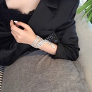 Korean hotselling short choker full diamond clavicle chain necklace for women  NHRN256472