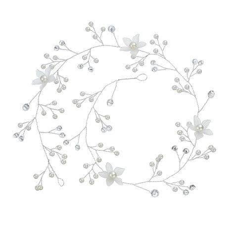 Fait à la main perle Shell fleur mariée plage bijoux de mariage bandeau robe accessoires NHHS256501's discount tags
