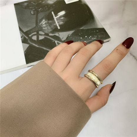 Fashion simple geometric ring metal personality temperament ring  NHYQ256550's discount tags