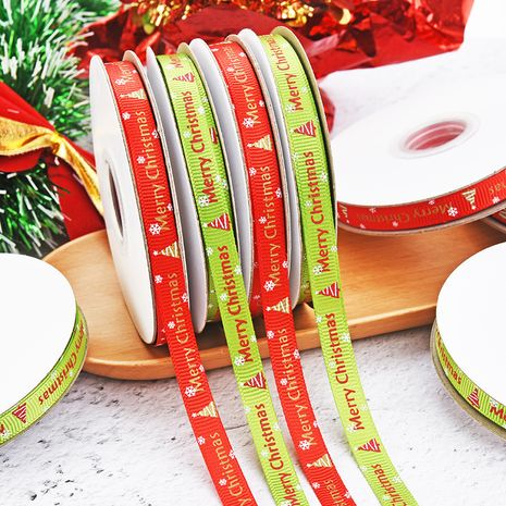 1cm Red Gift Wrapping Bowknot Horizontal Decoration Ribbon NHDN256559's discount tags