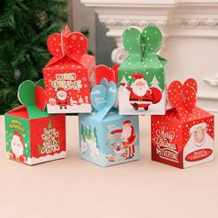 Christmas Folding Apple Box Cartoon Christmas Box NHMV256560