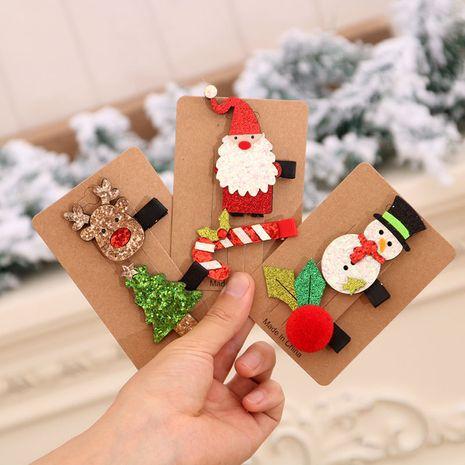 Ensemble d'épingles à cheveux de Noël Ensemble d'épingles à cheveux colorées pour enfants de Noël NHMV256577's discount tags