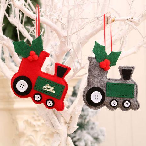 Pendentif de voiture en tissu de Noël Pendentif arbre de Noël en gros NHMV256599's discount tags