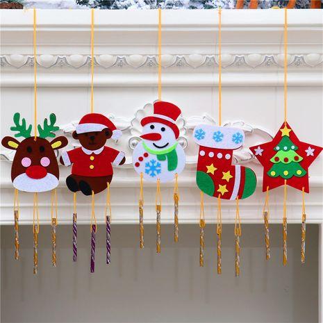 Pendentif carillon de vent fait main de Noël bricolage NHMV256606's discount tags