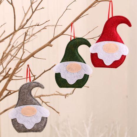 Nouveaux ornements de Noël en tissu petit pendentif en gros NHMV256610's discount tags