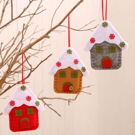 Nouveau pendentif d'église de petite maison de Noël en gros NHMV256618's discount tags