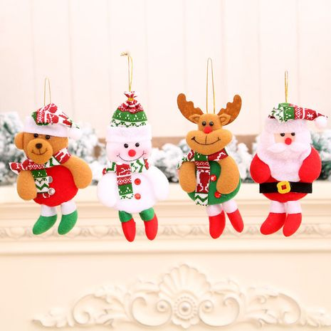 New Christmas prongs small cloth cloth art small pendant doll NHMV256619's discount tags