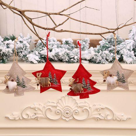 Tissu de mode petit pendentif décoration de Noël cadeaux de Noël NHMV256623's discount tags