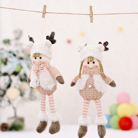 New Antlers enfant suspendu jambe pendentif créatif arbre de noël pendentif décoration de noël NHHB256624's discount tags