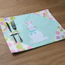 new supplies easter bunny placemat tablecloth mat wholesale NHHB256634
