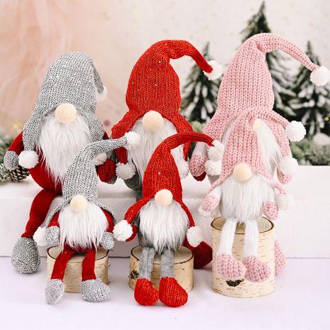 Fournitures de Noël Vieil homme de la forêt aux cheveux roux suspendus ornements de jambes NHHB256654's discount tags