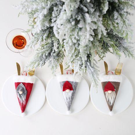 New Christmas Decorations Ensemble de couverts pour chapeau de vieil homme nordique NHHB256659's discount tags