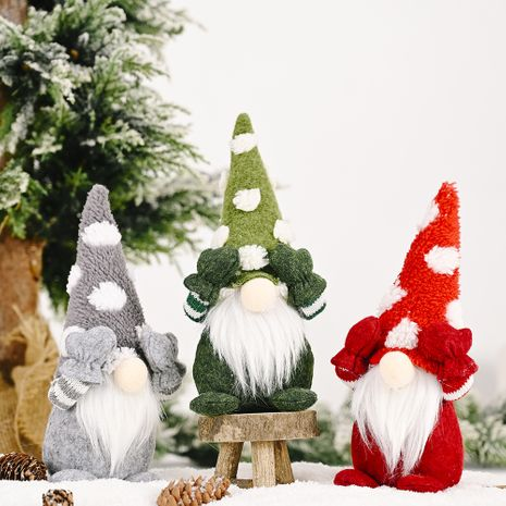 Décoration de Noël Chapeau de flocon de neige Poupée oeil couvert NHHB256662's discount tags
