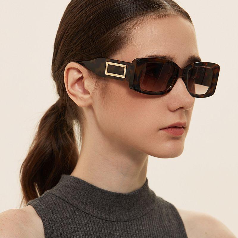 Fashion square rivet retro small box trend new sunglasses for women  NHXU256725
