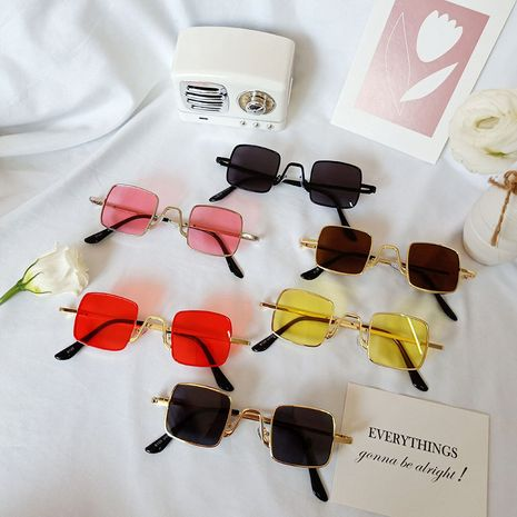 Retro sunglasses boys and girls sunglasses children sunglasses wholesale NHBA256736's discount tags