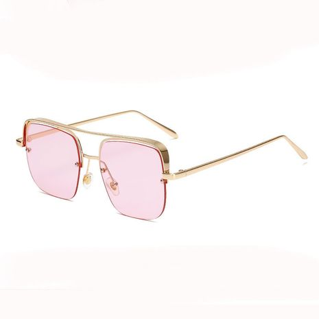 Fashion half-frame hanging silk ocean film decoration plain sunglasses for women NHBA256753's discount tags