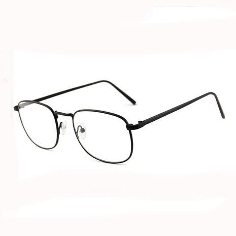 Korean Retro glasses frame flat mirror anti-radiation full frame wholesale NHBA256754's discount tags