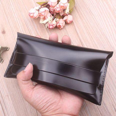 Gafas de sol estuche blando especial estuche de gafas de cuero de moda al por mayor NHBA256759's discount tags