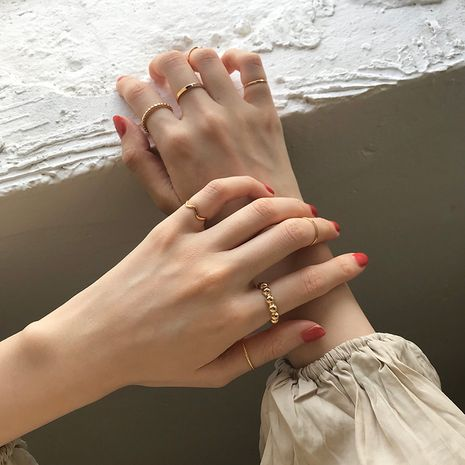 Fashion personality retro index finger ring wholesale NHBQ256906's discount tags
