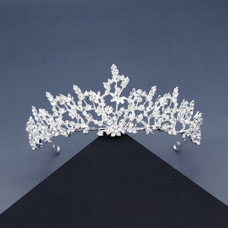 Korean new fairy bridal rhinestone  branches and leaves vines forest crown wedding hair accessories NHHS256913's discount tags