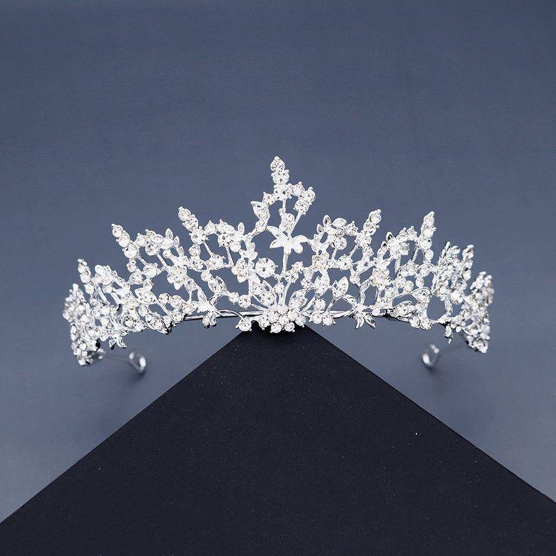 Coreano nueva hada nupcial rhinestone ramas y hojas vides bosque corona boda accesorios para el cabello NHHS256913
