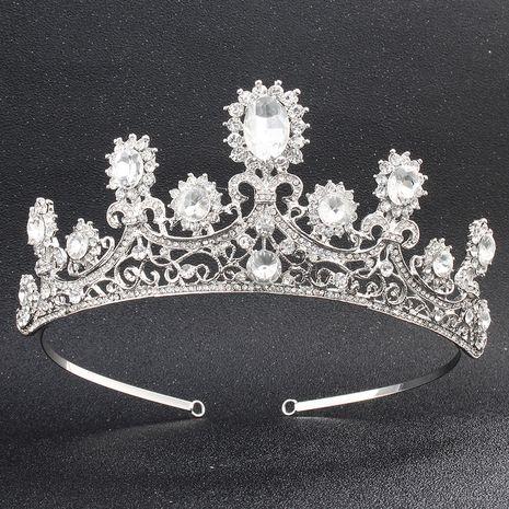 Mode mariée couronne baroque couronne bandeau coiffure accessoires de mariage NHHS256915's discount tags