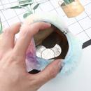new colorful plush coin purse ladies creative mini purse storage coin bag wholesale NHAE256939
