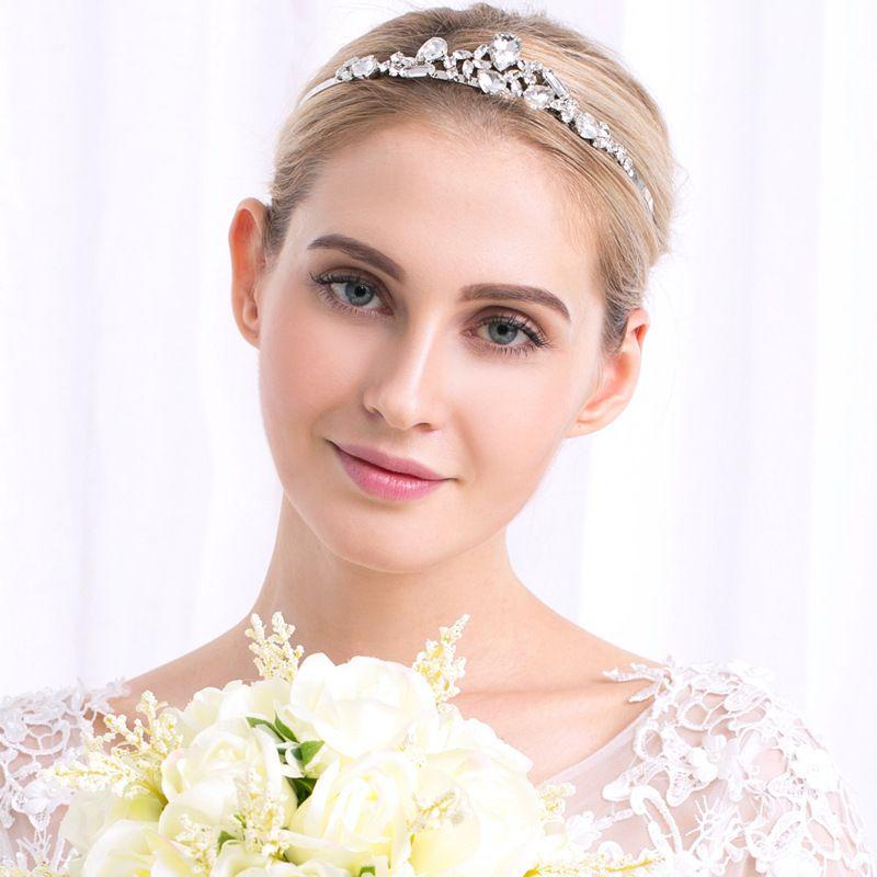 fashion pearl rhinestone  wedding headband wholesale NHHS256956