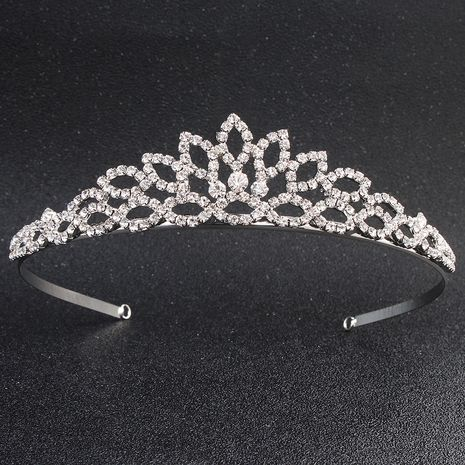 Hollow classic leaf  simple bridal wedding headband  NHHS256958's discount tags