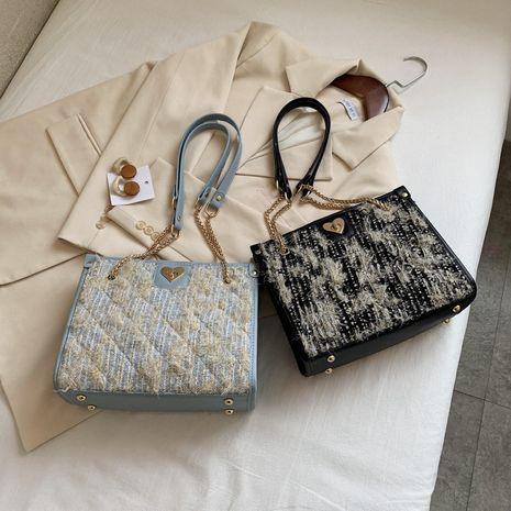 losange chaîne sac femmes nouveau coréen casual une épaule messenger mode sac fourre-tout en gros NHLH256993's discount tags