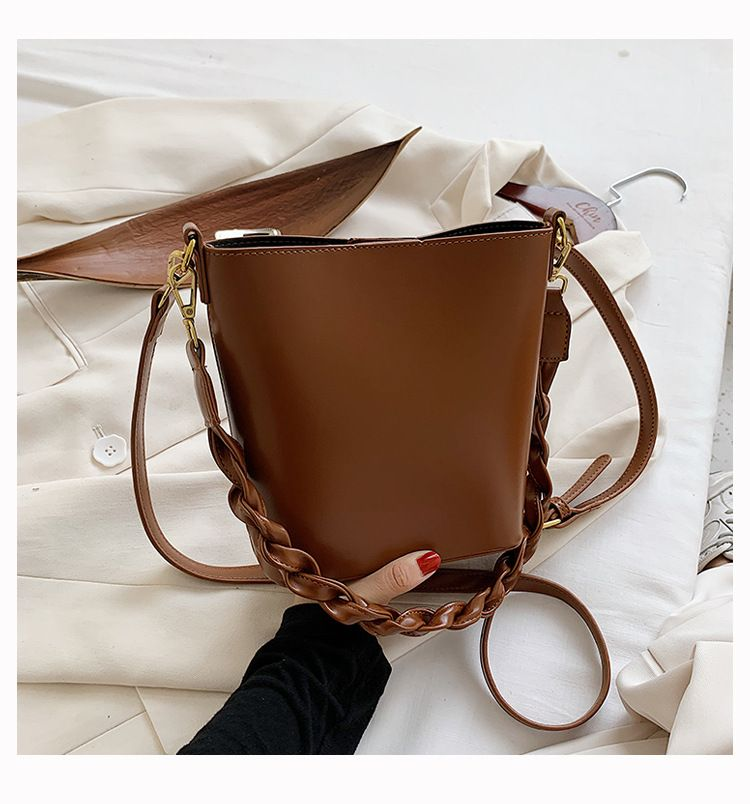 new fashion large-capacity shoulder messenger oceanic bucket handbag wholesale NHLH256995