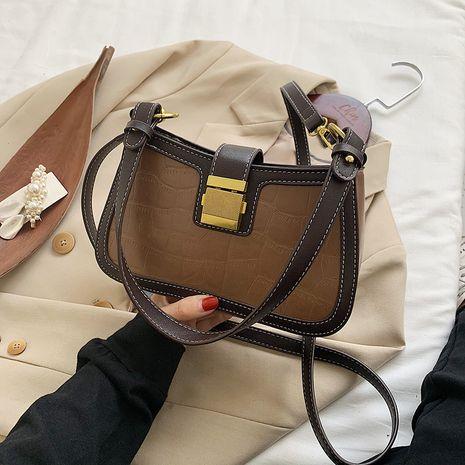 nouveau sac à bandoulière simple baguette de texture de mode simple NHJZ257071's discount tags