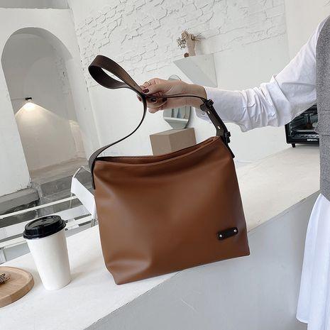 cuir souple de texture simple nouveau sac fourre-tout coréen décontracté à la mode de grande capacité NHJZ257073's discount tags