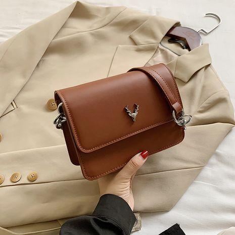 Nouveau sac à bandoulière tout-assorti à la texture de la mode NHJZ257074's discount tags
