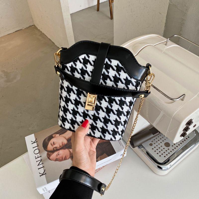new Korean retro bucket bag shoulder diagonal handbag wholesale NHJZ257079