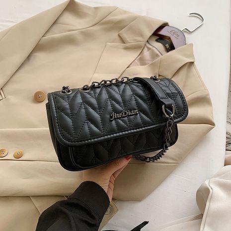 Fil de broderie simple nouveau sac à chaîne en cuir souple de texture coréenne NHJZ257084's discount tags