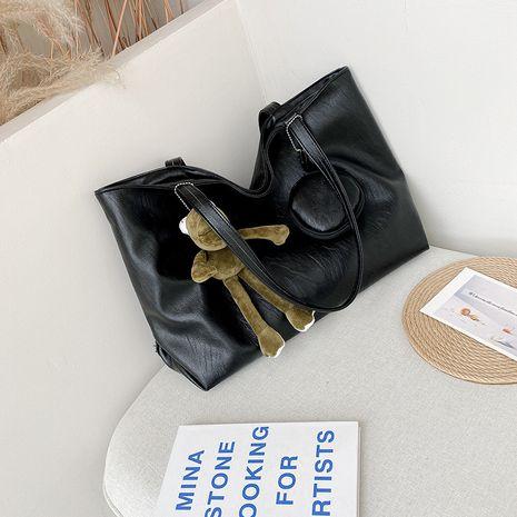 fourre-tout nouveau sac décontracté coréen en cuir souple à la mode NHJZ257087's discount tags
