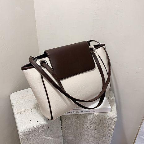 nouveau sac seau à une épaule couleur hit sac fourre-tout tout assorti de mode coréenne NHJZ257100's discount tags