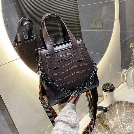 nouveau sac de messager à une épaule sauvage à la mode sac à main de mode rétro NHJZ257104's discount tags