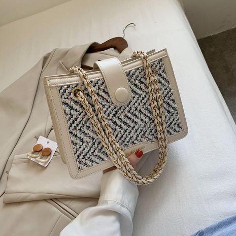 nouveau sac à bandoulière en laine à la mode sac à bandoulière sauvage NHJZ257107's discount tags