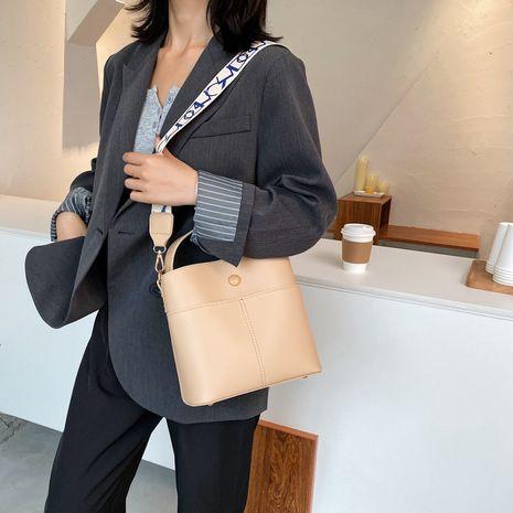 Nouvelle texture unique nouveau sac seau portable sauvage coréen à la mode NHJZ257122's discount tags