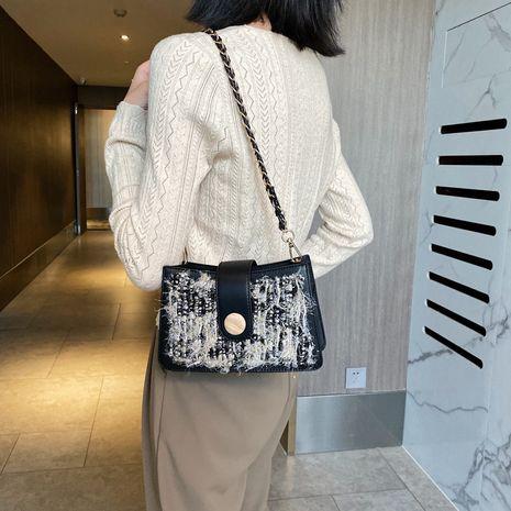 populaire nouveau sac à aisselle à une épaule tissé en paille de style occidental coréen à la mode NHJZ257124's discount tags