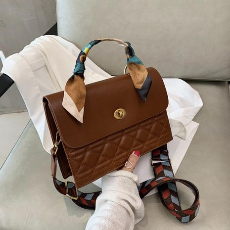 nouveau sac à bandoulière à losanges à la mode en gros NHJZ257125's discount tags